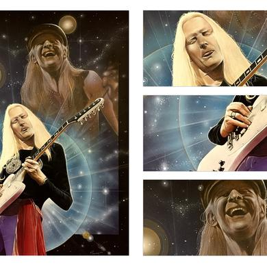"""Johnny Winter """"Prodigal Son"""" Print (3rd Party Site)"""