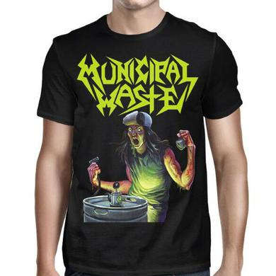 Municipal Waste Art Of Partying- MW Logo T-shirt