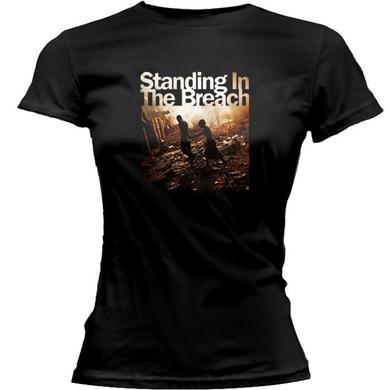 Jackson Browne Standing On The Breach 2014 Tour Ladies Tee