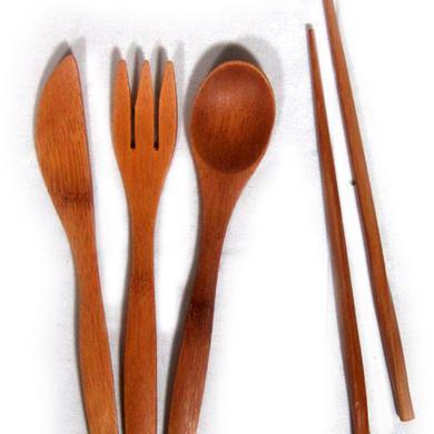 Jackson Browne Bamboo Utensil Set