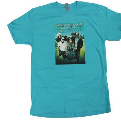 Jackson Browne with Sara & Sean Watkins 2013 Tour Shirt