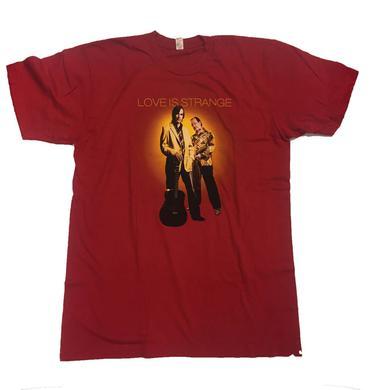 Jackson Browne & David Lindley - Love Is Strange 2010 Tour Shirt