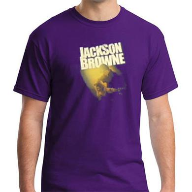 Jackson Browne Solo Acoustic Purple Tour Shirt