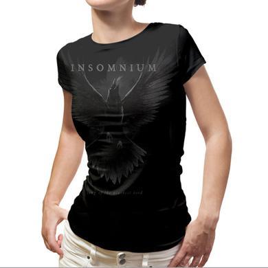 Insomnium Blackest Bird Ladies T-Shirt