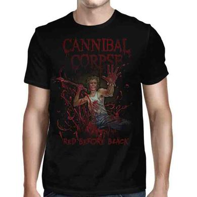 Cannibal Corpse Red Before Black Cover T-Shirt