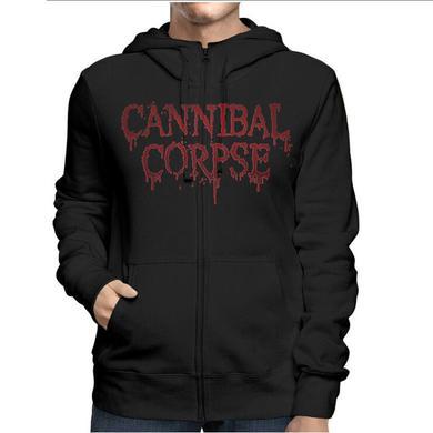 Cannibal Corpse Red Before Black Zip Hoodie