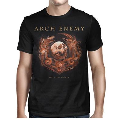 Arch Enemy Will To Power Tour-2017 T-shirt
