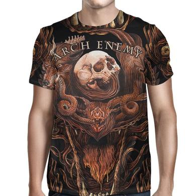 Arch Enemy Will To Power Allover T-Shirt