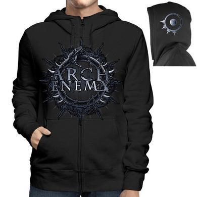 Arch Enemy Skull Bat Zipper Hoodie