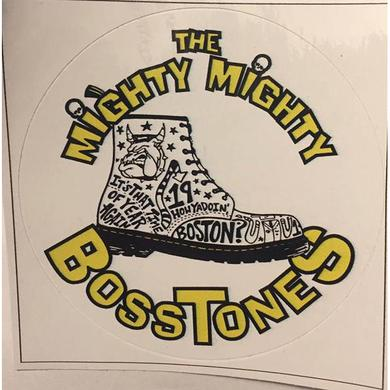 Mighty Mighty Bosstones Small Boot Sticker