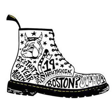 Mighty Mighty Bosstones Big Boot Sticker