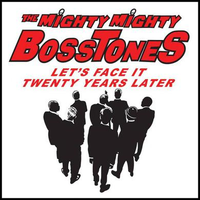 Mighty Mighty Bosstones Lets Face It Square Sticker