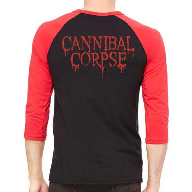 Cannibal Corpse Skeleton Raglan