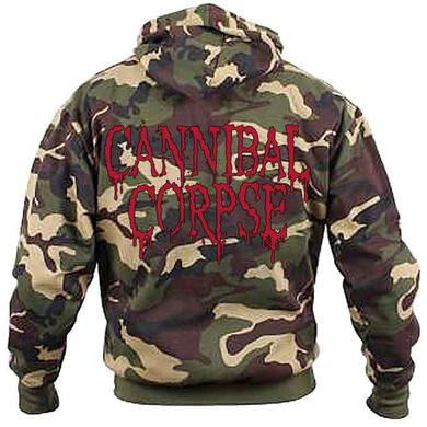 Cannibal Corpse Camo Logo Hoodie