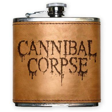 Cannibal Corpse Logo Flask