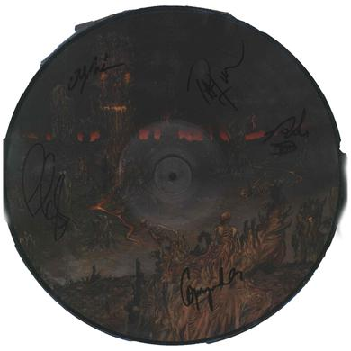Cannibal Corpse Signed Skeleton Domain Vinyl