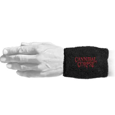 "Cannibal Corpse Red Logo 6"" Wristband"