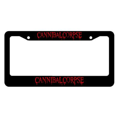 Cannibal Corpse Logo Licence Plate Holder