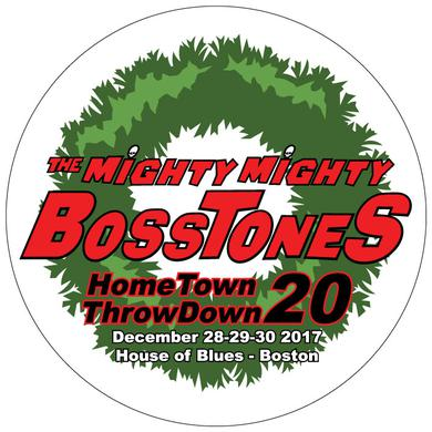 Mighty Mighty Bosstones Hometown Throw Down Circle Poster