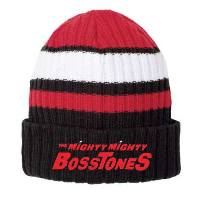 Mighty Mighty Bosstones Logo Red and Black Beanie