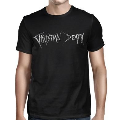 Christian Death Logo And Cross T-shirt