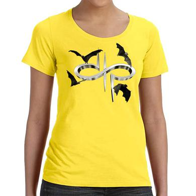 Devin Townsend Project DTP Bats Logo Ladies Scoop T-shirt
