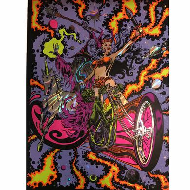 Dirty Donny Black Light Rebellion Lava Poster