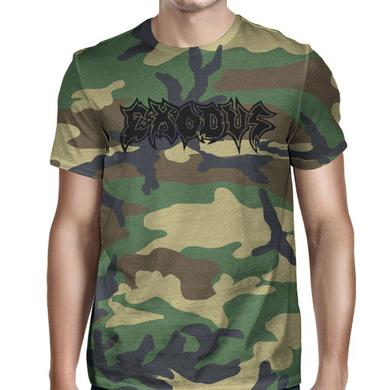 Exodus Metal Command Camouflage T-Shirt