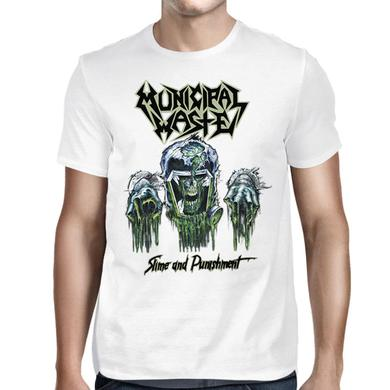 Municipal Waste Slime and Punishment  White T-shirt