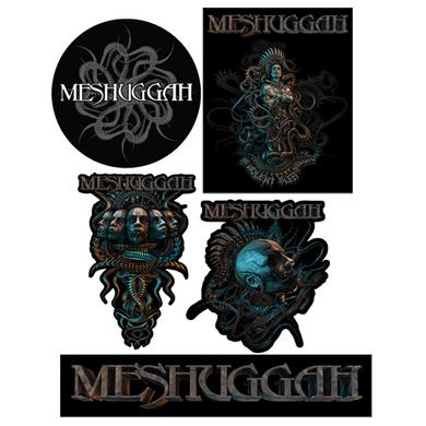 MESHUGGAH Violent Sleep Sticker 5 Pack