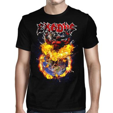 Exodus Devil Earth Tour 2018 Black T-Shirt