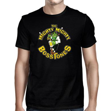 Mighty Mighty Bosstones MOY Band Cartoon Charcoal Grey T-Shirt