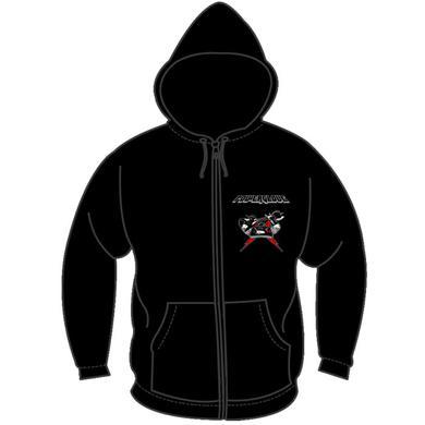 Powerglove Logo Controller Zip Hoodie