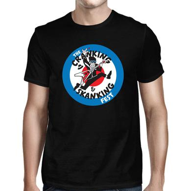 Mighty Mighty Bosstones Crankin' Worcester Black 2018 Tour T-Shirt