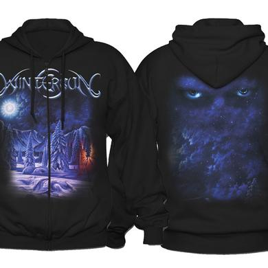 Wintersun Debut Album Zip Hoodie