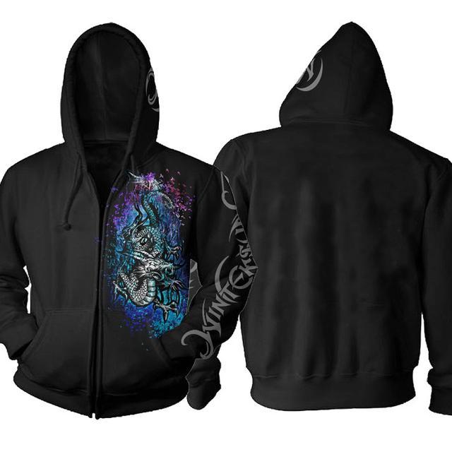 Wintersun Dragon Zip Hoodie