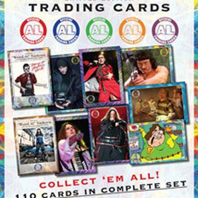 Weird Al 10 pack of trading cards