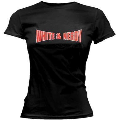 Weird Al White & Nerdy Girls Tee