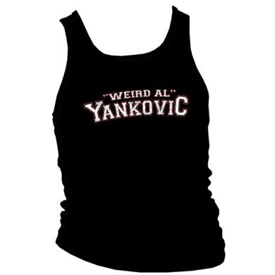 Weird Al Vintage College Logo Girls Tank