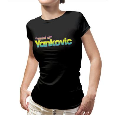 Weird Al Yankovic Vintage Color Logo Ladies Tee