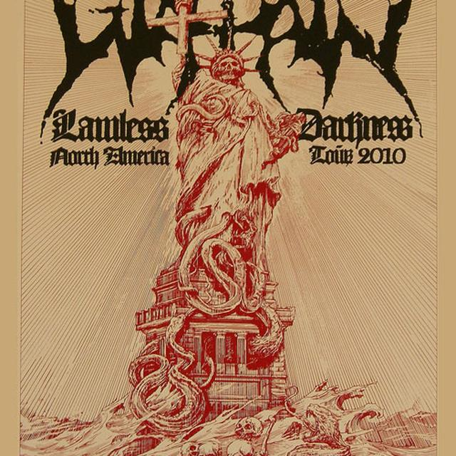 Watain Lawless Statue Large Poster