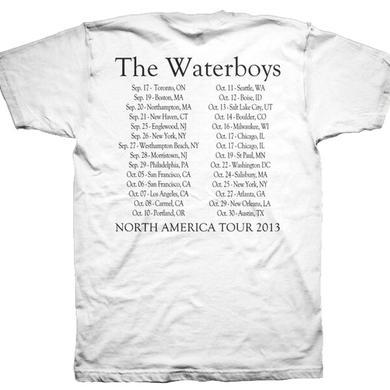 The Waterboys 2013 Tourshirt