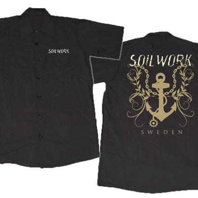 Soilwork Embroidered Logo with Anchor Back