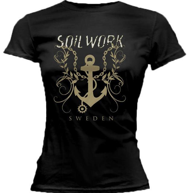 Soilwork The Living Infinite Anchor Ladies T-Shirt