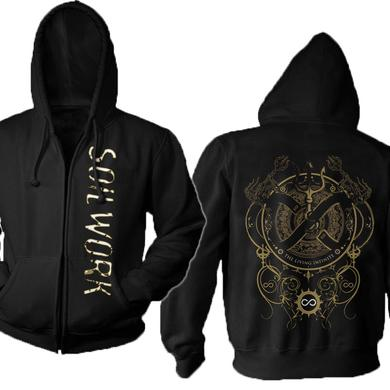 Soilwork The Living Infinite Zip Hoodie