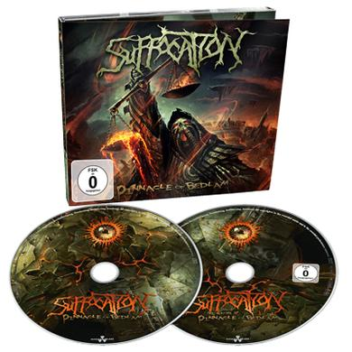 Suffocation Pinnacle of Bedlam CD/DVD Digigpak