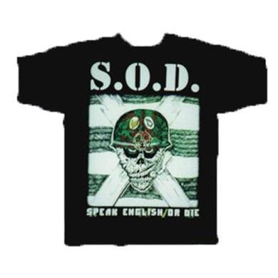 SOD Speak English Or Die T-Shirt