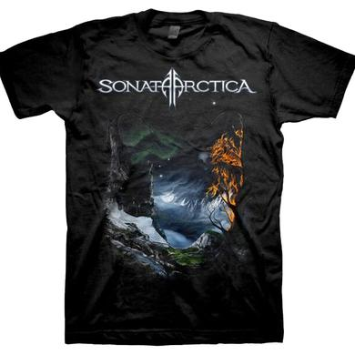Sonata Arctica Days of Grays-2009 Tour Dates Back Tee