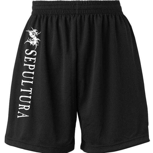 Sepultura S-Logo Mesh Gym Shorts
