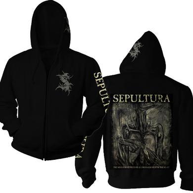 Sepultura S-Logo / Mediator Zip Hoodie